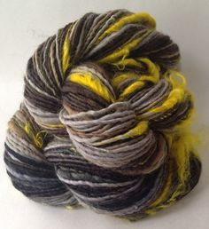 """Pussy Willow"" Natural novelty yarn"