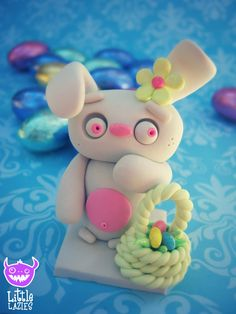 The Lazy Easter Bun Limited Edition by LittleLazies on Etsy