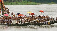 You can cherish a popular boat race festival in Kerala Backwaters Tour from Parjatakguru.