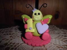 Polymer Clay Butterfly Personalized Pretty by TammysClayCreations, $21.95