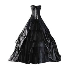 Partiss Womens Medieval Black Gothic Corset Prom Ball Gowns Victorian... ($127) ❤ liked on Polyvore featuring costumes, lady costumes, ladies halloween costumes, prom costume, victorian halloween costumes and women's halloween costumes