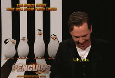 Benedict Cumberbatch's Completely Random Opinion On Totally Random Things // HE IS LYING, LOOK AT HIM AVOID EYE CONTACT