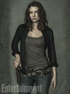 'The Walking Dead': Exclusive EW Portraits | Lauren Cohan | EW.com