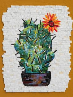 Check out more of our mosaic work here… Mosaic Wall Art, Tile Art, Mosaic Glass, Mosaic Tiles, Glass Art, Pebble Mosaic, Mosaic Crafts, Mosaic Projects, Mosaic Flowers