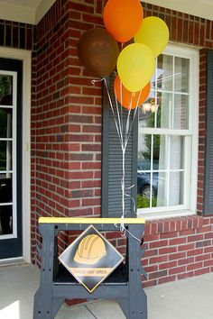 Hoosier Life, Hoosier Wife: Tyson's Construction Birthday Party!