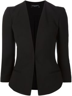 Narciso Rodriguez Fitted V-neck Jacket - Mario's - Farfetch.com