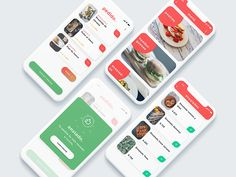APP UI Design Restaurant