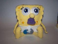 Baby Spongebob - CROCHET