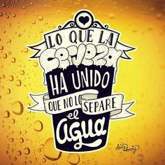 Lo que la cerveza...