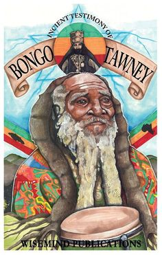 INCIENT PRIEST BONGO TAWNEY artwork by Ras Jah Terms African History, African Art, Reggae Art, Reggae Music, Rastafari Art, Rastafarian Culture, Rasta Art, Lion Of Judah, Vintage Pictures