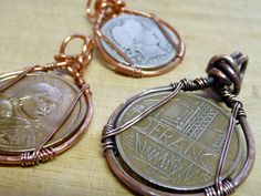 wire wrapped pennies - Google Search