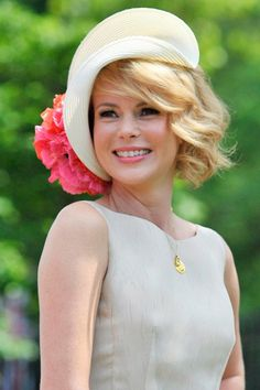 Amanda Holden at Royal Ascot 2012