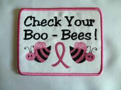 BooBees Iron on Patch by GerriTullis on Etsy, $13.00