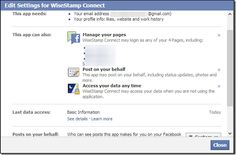How to Change or Disable Facebook Connected Apps Settings