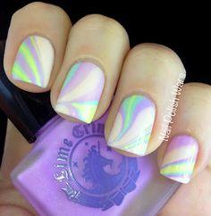 Deliciously gorgeous. Pastel Nails.  Lime Crime Les Desserts d'Antoinette Collection.