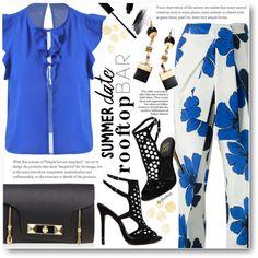 June 2016  floral, heels, sammy dress, summer date