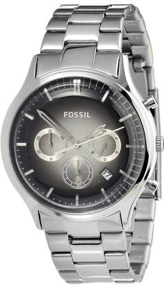 Fossil Men's FS4673 Ansel Chronograph Stainless Watch < $100.00 > Fossil Watch Men