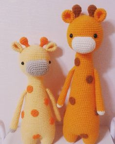 Giraffe by jungmin.dasom. Crochet pattern by Little Bear Crochets: www.littlebearcrochets.com ❤️ #littlebearcrochets #amigurumi