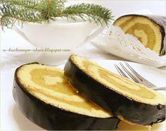 rolada jabłkowa z polewą czekoladową Camembert Cheese, Dairy, Food, Essen, Meals, Yemek, Eten