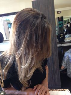 Bali-age blend ombre hair by Brooke wilson