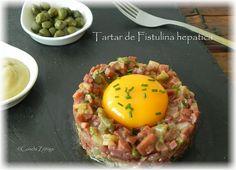 Degusta+ Exquisitos Platos y Tapas: Tartar de Fistulina hepatica