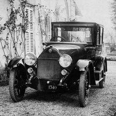 Alfa Romeo 20-30 HP Serie E, 1920. Questo modello rimase in produzione fino al 1921