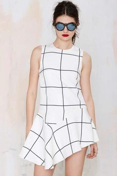 Style Stalker Monumental Asymmetrical Dress #asymmetricdress #women #covetme