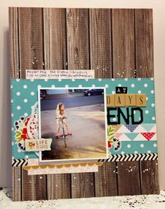 At Days End by Shawna Webster for Pebbles Inc.