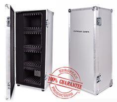 Safe Flightcase Cabinet for 32 iPad tablets.  Producer: http://www.agata-flightcases.com