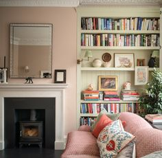 See our portfolio of interior design projects from Edinburgh, London, St Andrews and Surrey Home Living Room, Living Room Designs, Living Room Decor, Living Spaces, Victorian Living Room, Cosy Home, Cozy Living, Interior Inspiration, Interior Ideas