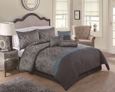Fingerhut - Rosalie 7-Pc. Comforter Set - Queen
