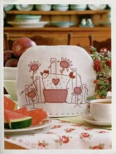 This is VERY high up on the to do list! Beautiful tea cosy!