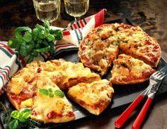Das Rezept für Fladenbrot-Pizza und weitere kostenlose Rezepte auf LECKER.de