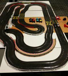 Ho Slot Cars, Slot Car Racing, Slot Car Tracks, Race Cars, Scalextric Track, Toys For Boys, Big Boys, Lego, Trains