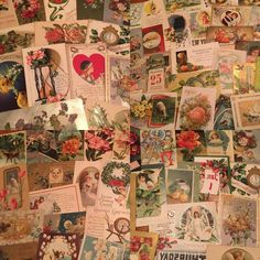 400 Huge Box Lot Vintage  Mixed Holidays & Greetings Postcards Antique-L-10 #holidaysgreetingslot