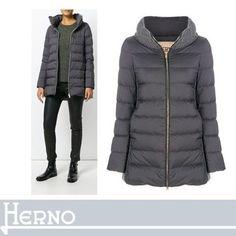 HERNO ダウンジャケット・コート HERNOシンプルコーデのスパイスとして パッド入りショートコート