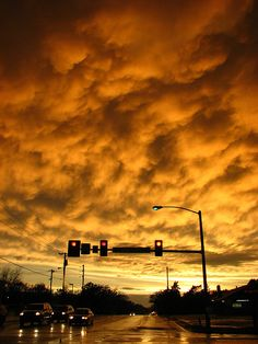 oklahoma sky. If the storm was over- you got a sky like this. Just another reason to love yellow