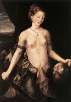 "Jan Massys, 1570  ""Judith slaying Holofernes"""
