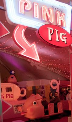 Learn the story behind Macy's famous Pink Pig in Atlanta!