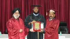 Dr. Mohammad Ali Aljasmi receiving certificate of Fellowship in minimal access Surgery at World Laparoscopy Hospital. For more detail please log on to www.laparoscopyhospital.com