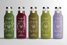 Re-Veg Cold Pressed Juices (Student Project) on Packaging of the World - Creative Package Design Gallery