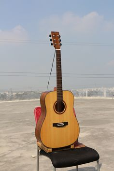 """$95 Model:W-MBS-41D Name:41"""" Solid Top cutaway Acoustic Guitar Body Top:A+ Solid Spruce Back & Side:Walnut Binding:ABS Back Seam: Wood Rosette:Wood Finish:High-gloss Color:Nature Neck                                         Neck Material:Nato Fret :20 Fingerboard:Rosewood with Inlay Abalone Shell Dot Nut:Bone Nut Width:1 3/4"""" (43mm) Bridge:Rosewood Head machine:High Quality  Die-cast Saddle:Bone Strings:D'Addario EXP 16 Electronics:As you requested Avaliable Service:Wholesale/ODM/OEM"""