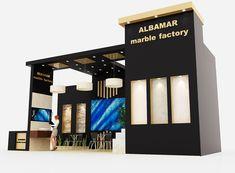 Albamar Marble Exhibition Stand Design
