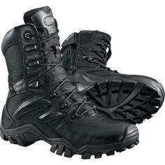 """Bates Delta 8"""" Side-Zip Boots with ICS Zone Technology"""