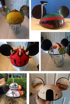 I& just come up for air after binge-browsing the most amazing online Dizgeek nirvana, you guys: Recycl EARS . Jess, the genius behind R. Mickey Mouse Ears Hat, Disney Mickey Ears, Disney Star Wars, Cute Disney, Disney Stars, Disney Headbands, Disney Hair, Disneyland, Fandom
