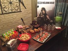 The Walking Dead Premiere Movie Night Party Ideas | Photo 2 of 8
