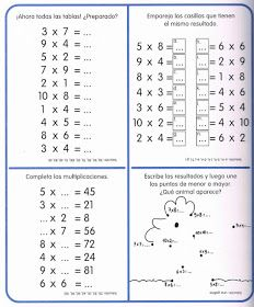 APOYO ESCOLAR ING MASCHWITZT CONTACTO TELEF 011-15-37910372: LAS TABLAS DE MULTIPLICAR (CON ACTIVIDADES) Multiplication Facts Worksheets, Multiplication Strategies, Multiplication Sheets, Fractions, Dyslexia Activities, Minnie Mouse Coloring Pages, Learning Numbers, Prepositions, 4th Grade Math