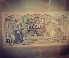 Old indonesian currency