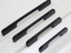 15 Pack 64 mm Armoire Poignées en Acier Inoxydable T Bar Tire Noir Armoire Tiroir