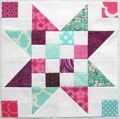 Patchwork Star block